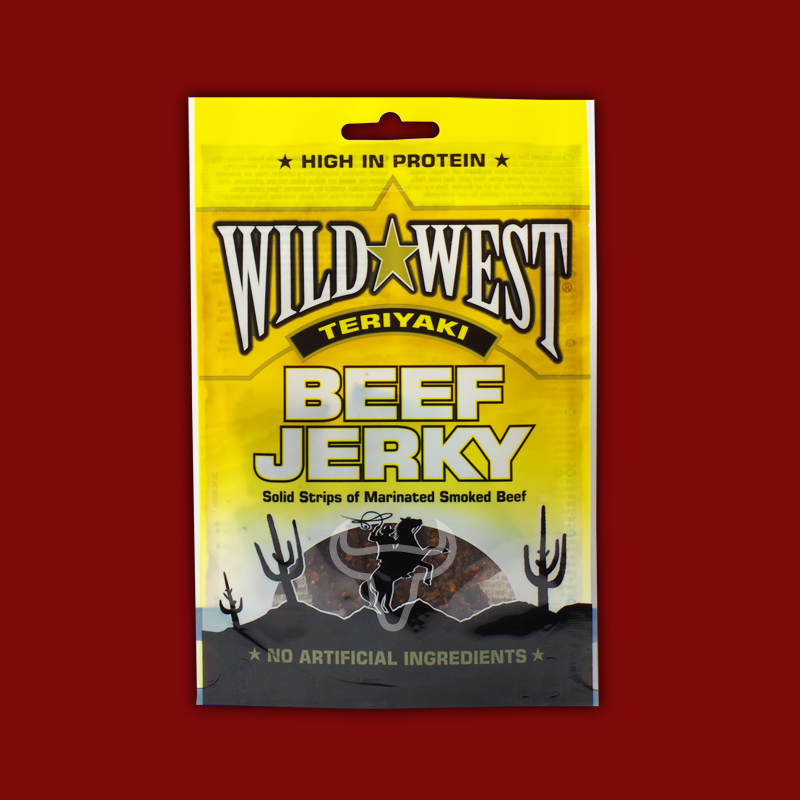 Wild West Natural Beef Jerky Teriyaki, 25g