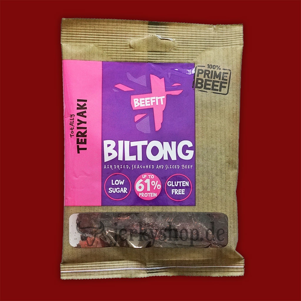 Beefit Snacks Biltong - Totally Teriyaki, 35g