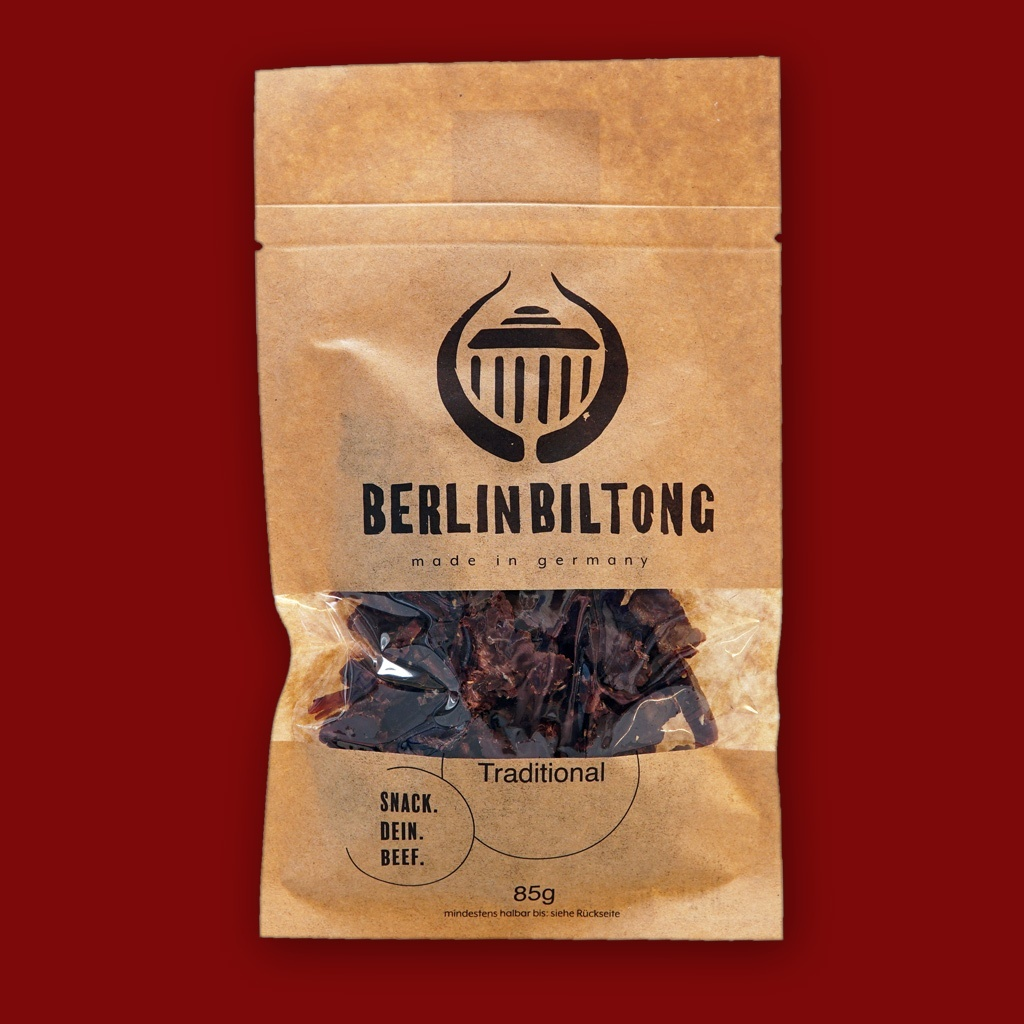 Berlin Biltong -   Traditional, 85g