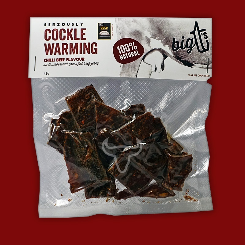 Big T's Beef Jerky - Chilli, 45g
