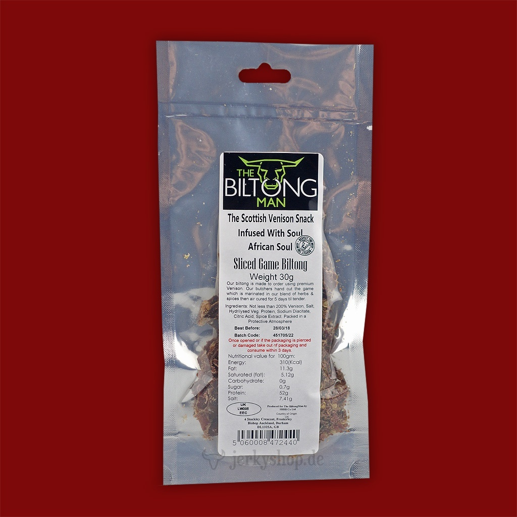The Biltong Man - Game (Rotwild), 30g