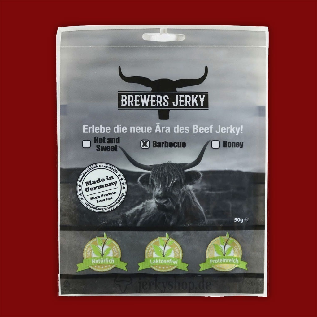 Brewers Jerky - Barbeque, 50g