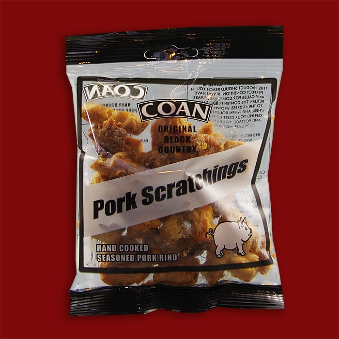 Coan Pork Scratchings, 70g