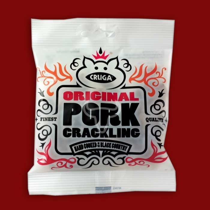 Cruga Original Pork Crackling, 45g