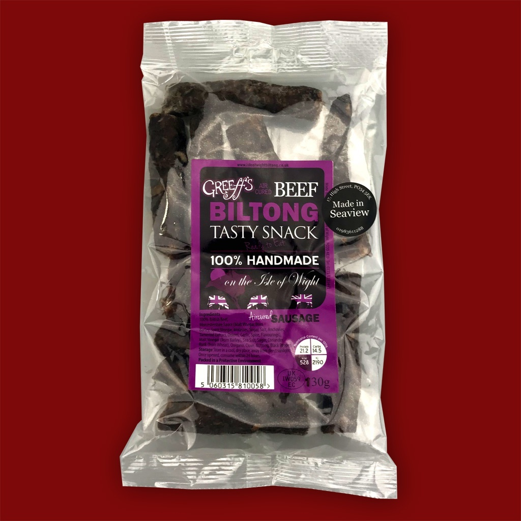 Greeff's Aircured Sausage (Droewors), 130g