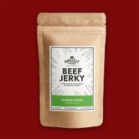 Grizzly Foods Beef Jerky - Garden Greens, 50g