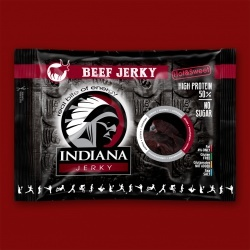 Indiana Beef Jerky Hot & Sweet, 100g
