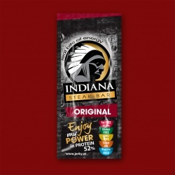 Indiana  Jerky - Steak Bar, 20g