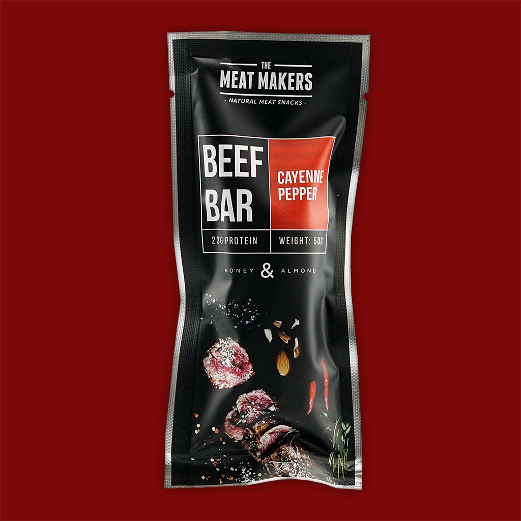 Meat Makers Beef Bar - Cayenne Pepper, 50g