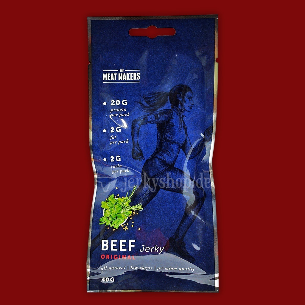 "Meat Makers ""Active Line"" Beef Jerky - Original, 40g"