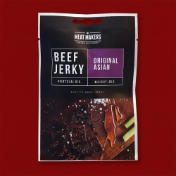"Meat Makers ""Snack Pack"" Beef Jerky - Original Asian, 25g"