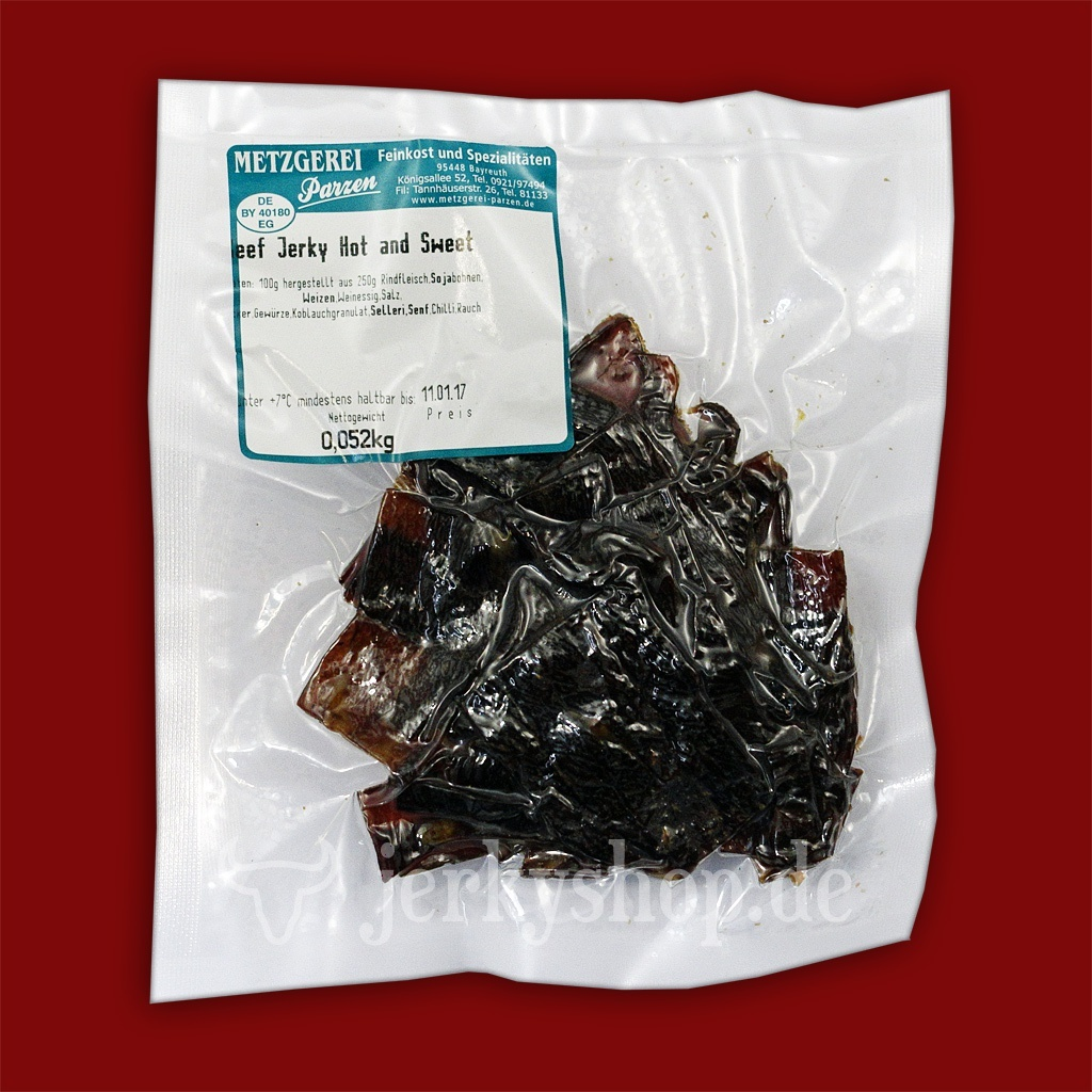 Brewers Jerky - Hot & Sweet, 50g
