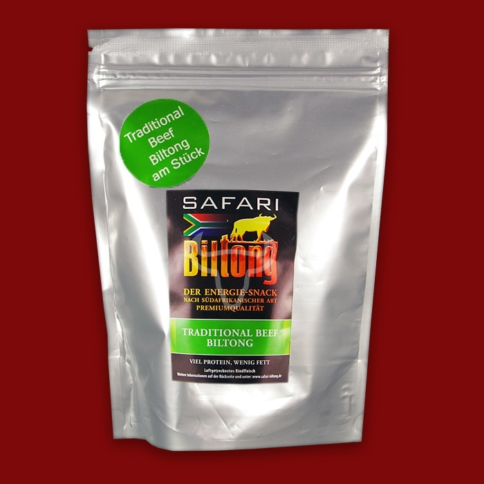 Safari Biltong Traditional am St�ck, 400g