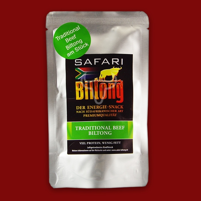 Safari Biltong Traditional am St�ck, 80g