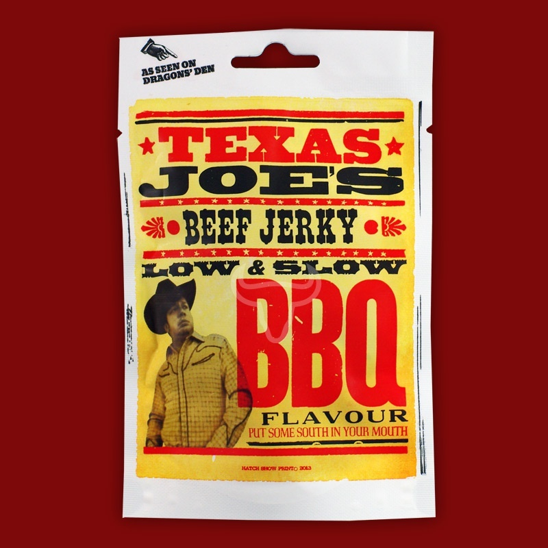 Texas Joe's Beef Jerky - Low & Slow BBQ, 50g