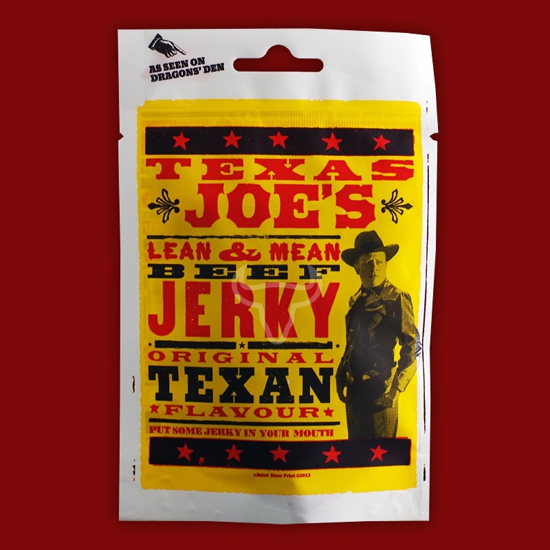 Texas Joe's Beef Jerky - Original Texan Flavour, 50g