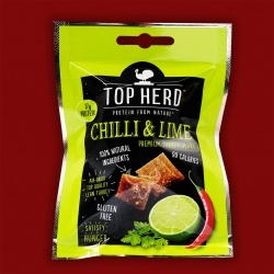 Top Herd Turkey Jerky - Chilli & Lime, 35g