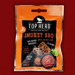 Top Herd Beef Jerky - Smokey BBQ, 35g