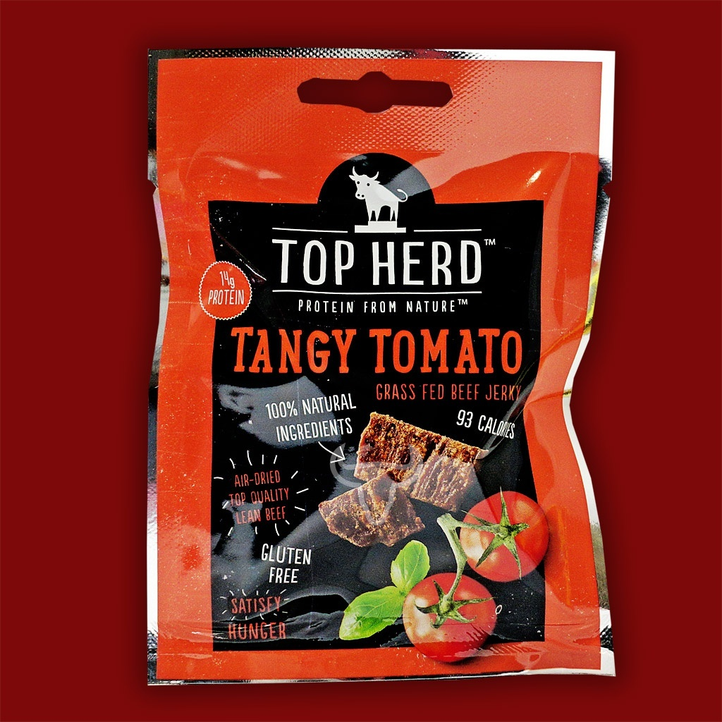 Top Herd Beef Jerky - Tangy Tomato, 35g