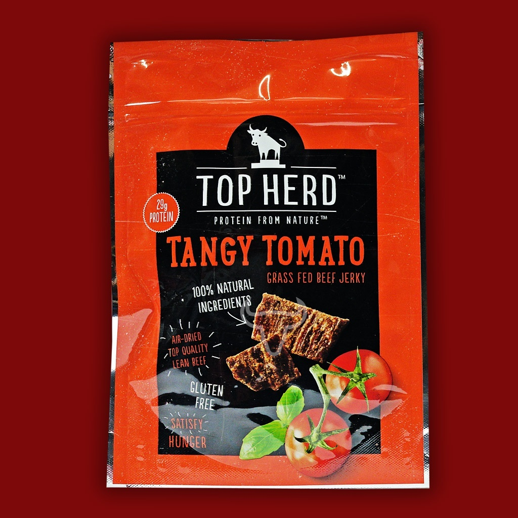 Top Herd Beef Jerky - Tangy Tomato,  70g