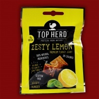 Top Herd Turkey Jerky - Zesty Lemon, 35g