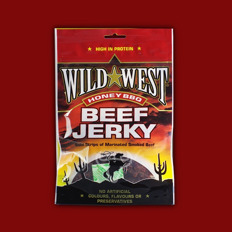 Wild West Beef Jerky Honey BBQ, 25g