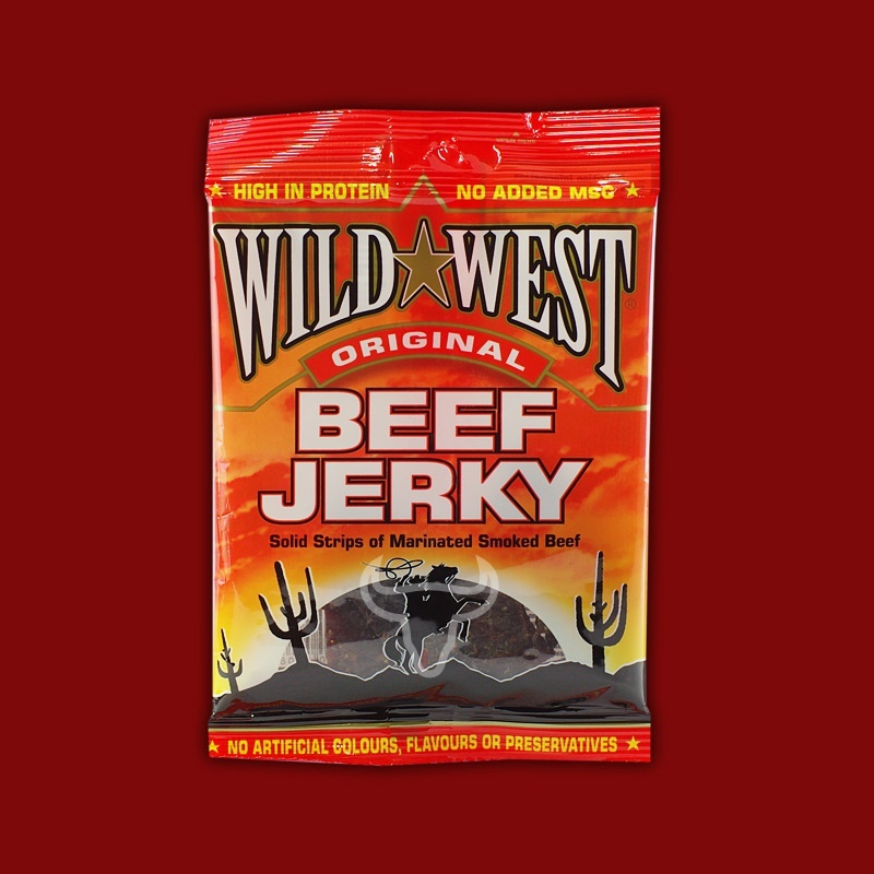 Wild West Beef Jerky Original, 25g