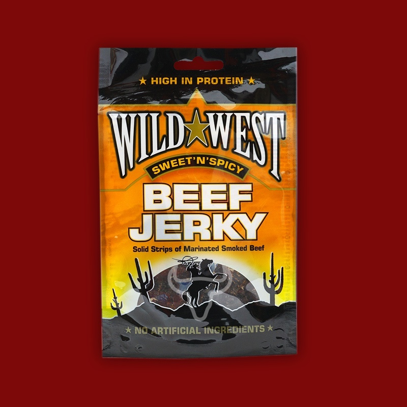 Wild West Beef Jerky Sweet'n'Spicy, 25g