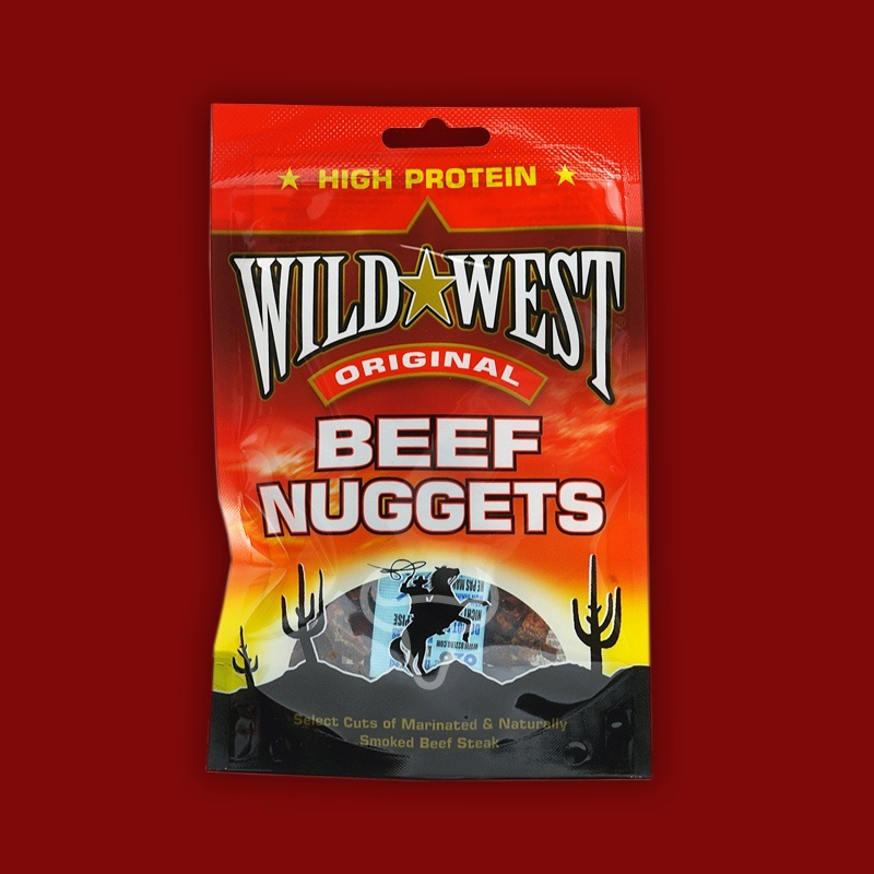 Wild West Beef Nuggets Original, 25g