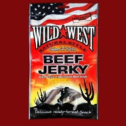 Wild West Natural Beef Jerky Sweet'n'Spicy,  85g