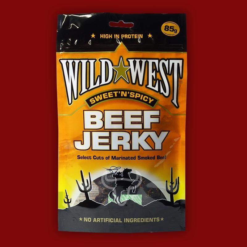 Wild West Beef Jerky Sweet'n'Spicy,  85g